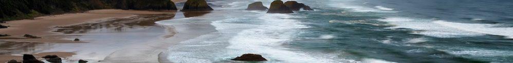 Waves, Sand and Rocks